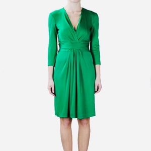 Issa London - Emerald Green Silk Dress